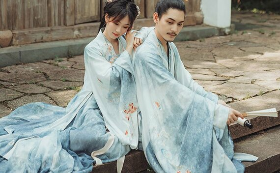 6 Hanfu Styles for Lovers on Valentine's Day