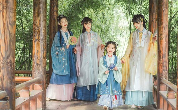A Brief History of Chinese Outfit for Girl – Bijia (vest)