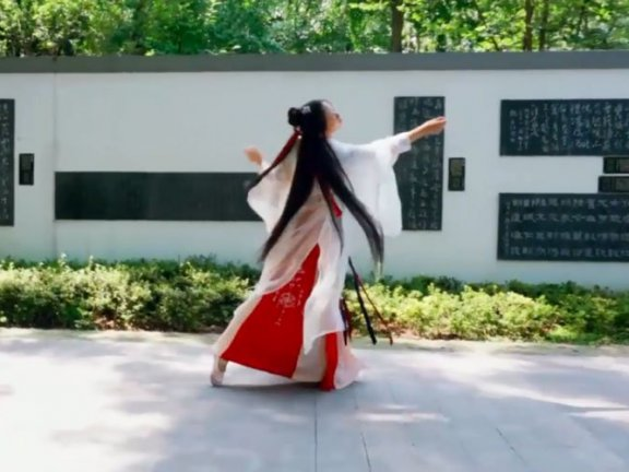 Hanfu Dance – Ancient Red Phoenix Flying