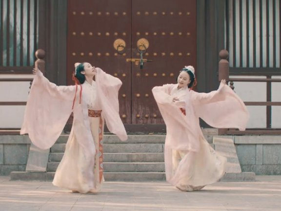 Hanfu Dance Copper Bird Song