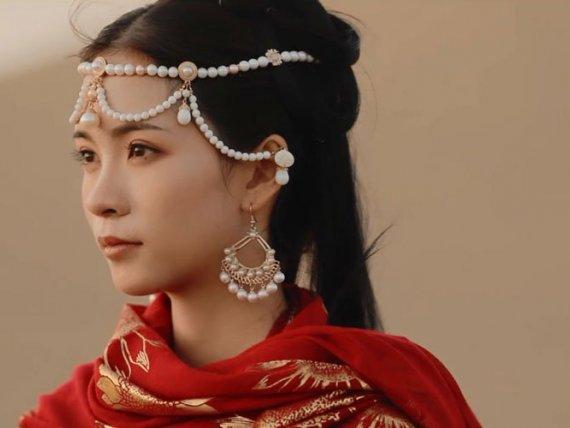Hanfu MV   Desert Sand Snow Story