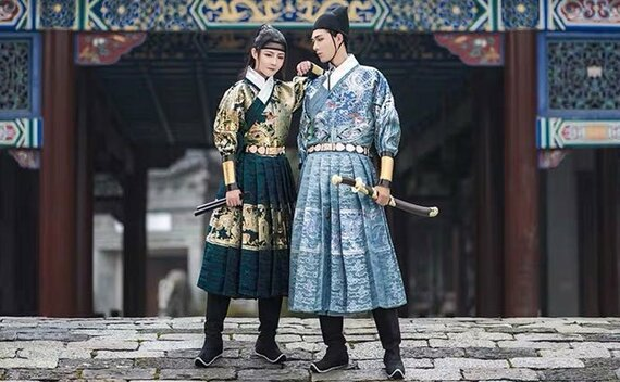 Men's Clothing China | How to Pick One Dazzling Hanfu for Men?
