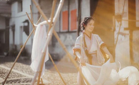 Hanfu Photography – Enjoy Hanfu in Daily Life