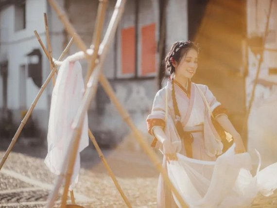 Hanfu Photography – Enjoy Hanfu in Daily Life