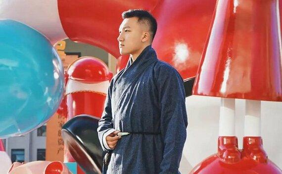 Chinese Man Costume | Ming Style Hanfu Jacket – Zhiduo