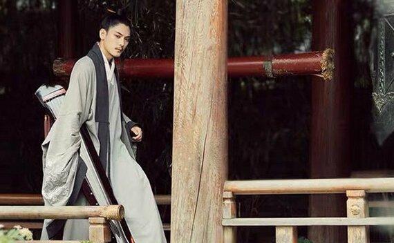 Chinese Man Costume | Ming Style Hanfu: Taoist Robe – Daopao