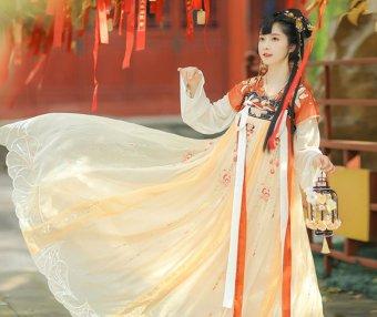 How to Wear Hanfu (2) – Tang Dynasty Qixiong Ruqun