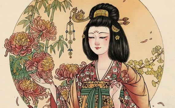 Chinese Historical fashion Items for Tang Dynasty Women