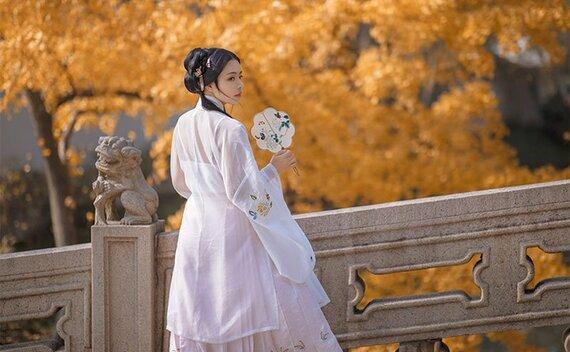 How to Wear Hanfu (8) – Ming Dynasty Sheer Fabric Shirt