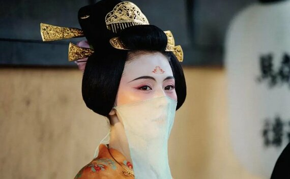 Huadian – A Special Hanfu Makeup for Female