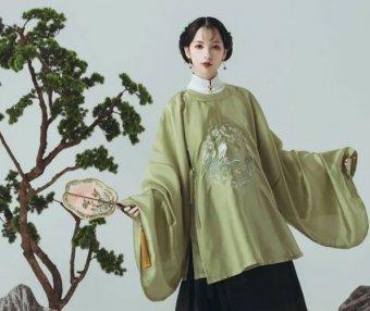 Chinese Dress for Girls – Ming Style Round Collar Hanfu