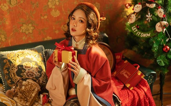 4 Sets Hanfu for Christmas That'll Make You Special