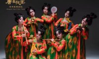 "Awesome! Pretty Hanfu Dance Show ""Tang Palace Night Banquet"""