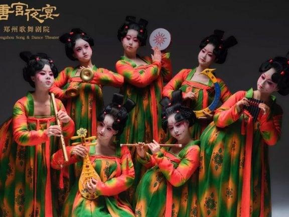 "Awesome! Pretty Hanfu Dance Show ""Tang Palace Night Banquet"""