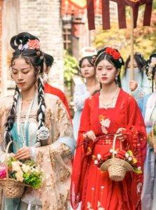 Live Photos of Hanfu Activities