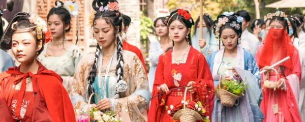 Live Photos of Hanfu Activities