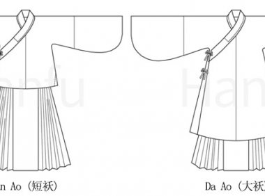 Hanfu Making(2) – Aoqun Cutting & Sewing Patterns