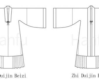 Hanfu Making(4) – Beizi Cutting & Sewing Patterns