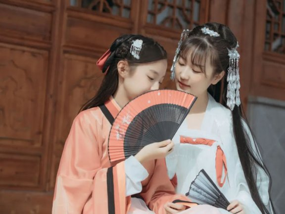 Chinese Hanfu Hairstyle Tutorial – 3 [Without Wig Buns]